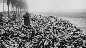 expended artillery shells featured