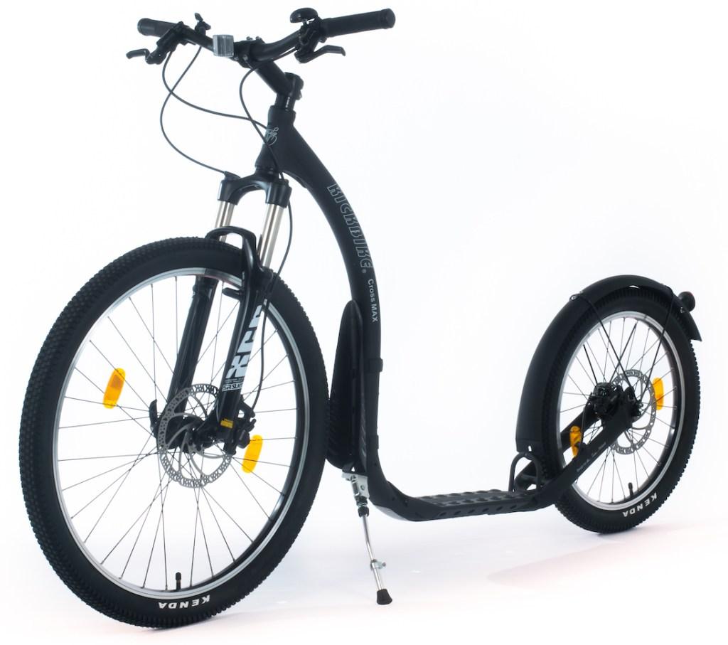 Kickbike Cross MAX HD, freins Hydrauliques et Fourche amortisseur