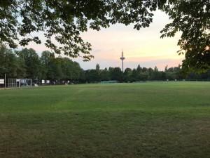 Die Bertramswiese - Heimat von Kickers 16 !