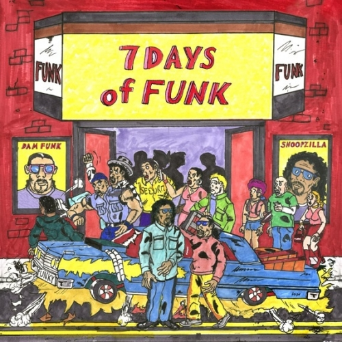 12. 7 Days Of Funk Dam Funk and Snoopzilla's smooth new G-Funk classic