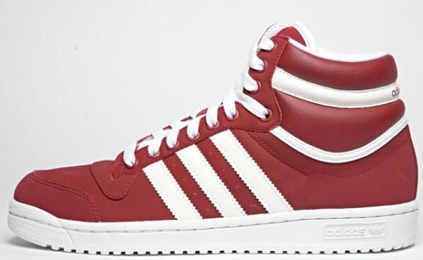 Adidas Top Ten Hi - Red - White