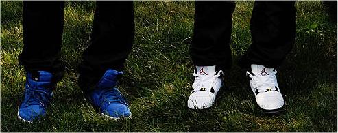 Celebrity Kicks: The Cool Kids Like Jordans, Who Would've Thought?