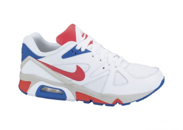 Nike Air Structure Triax - White - Red - Blue