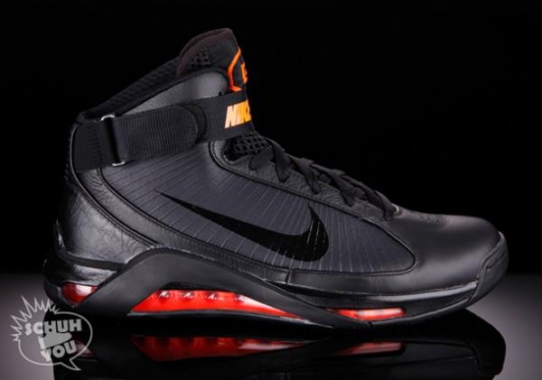 Nike Hypermax - Stealth Black / Max Orange