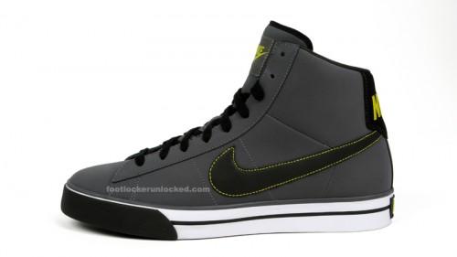 Nike Sweet Classic Mid - Grey - Black - Lime
