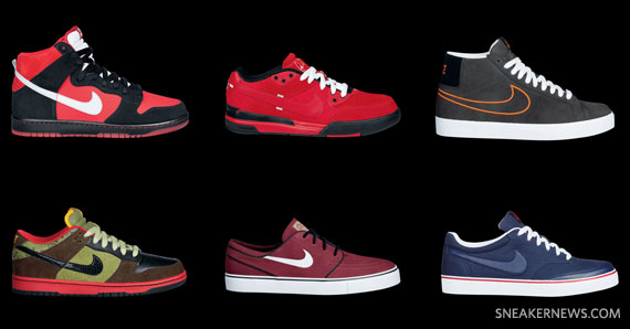 Nike SB September 2009 Collection
