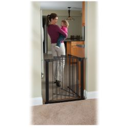 Shapely Wide Openings Auto Close Gateway As A Pressure Mount Gate Auto Close Gateway Pressure Mounted Baby Gate Stairs Pressure Mounted Baby Gates