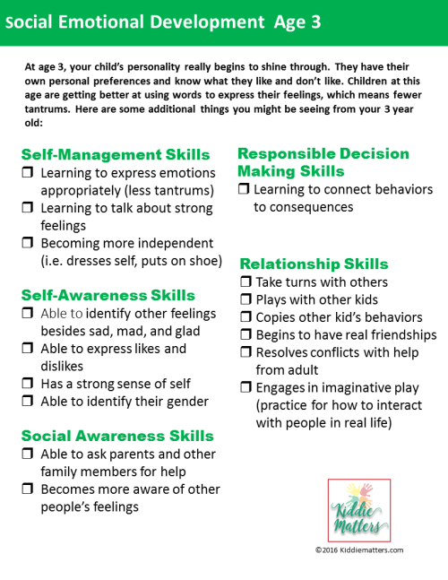 child observation checklist social and emotional Four year old checklist this check list should be done twice during the school year, october and may child's name: _____ birth date: _____.