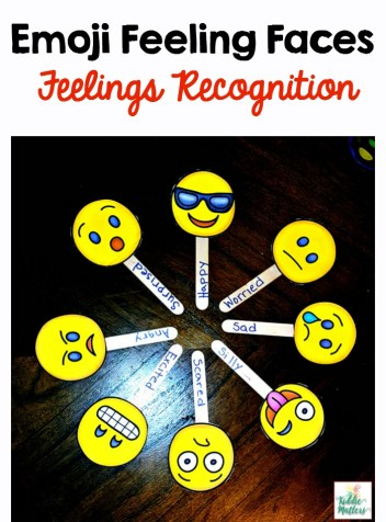 Emoji Feeling Faces: Feelings Recognition