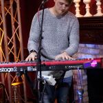 Rixton's Danny Wilkin playing keys