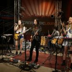 "HAIM sings ""The Wire"" and ""Forever"" in studio"