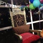 Kellie's 20 Year Anniversary Throne