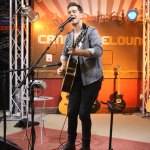 Andy Grammer singing his new song Back Home