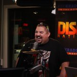 Gabriel Iglesias laughing with the cast