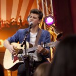 Shawn Mendes performs in the Canal Side Lounge