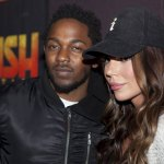 Kendrick Lamar with Jenna