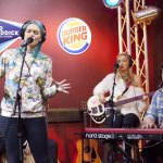Sheppard in the Burger King Breakfast Lounge