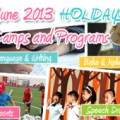 June holiday camp 2013