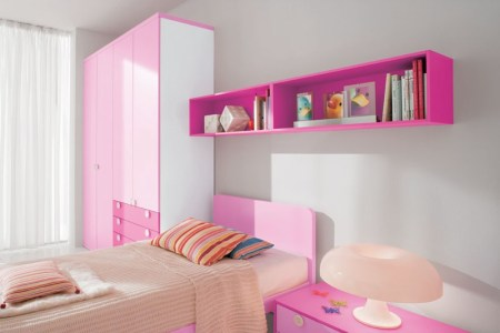 cool pink girls bedroom designs from doimo city line