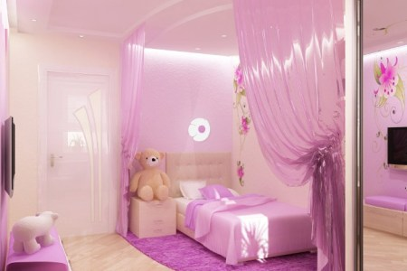 pink bedroom for a little princess 4
