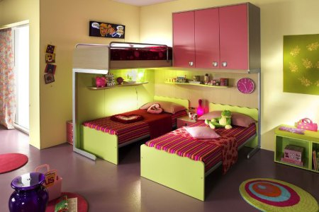kids bedroom designs for two children from linead 10