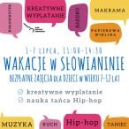Szczecin, wakacje w Szczecinie, dla dzieci, bezpłatne, kierunek Szczecin, Słowianin, zajęcia taneczne, wakacje w mieście
