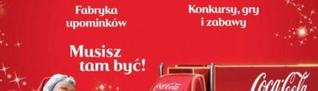 świąteczna ciężarówka coca-cola w Szczecinie, Azoty Arena - 01.12.2015