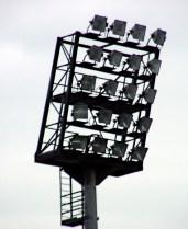 Floodlight, Millerntorstadium of FC St. Pauli, HamburgGermany
