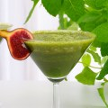 Green smoothie de otoño