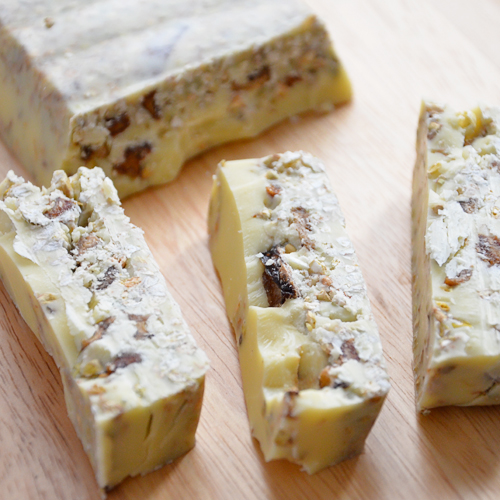Turrawn de chocolate blanco: 100 % raw vegan
