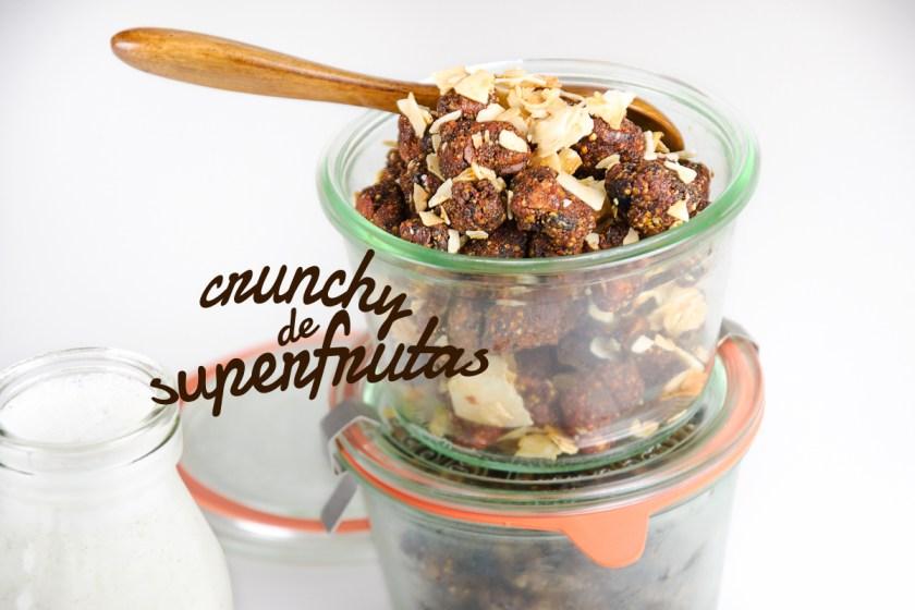 Crunchy de súper frutas