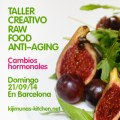 Taller creativo raw food anit–aging. Cambios hormonales.
