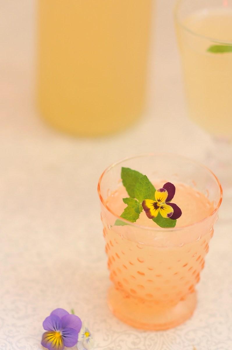 Happy Hour: Lavender Lemonade