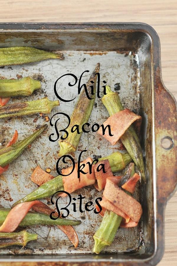 Chili Bacon Okra Bites 5, Kiku Corner
