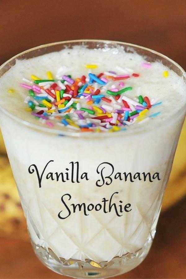 Vanilla Banana Smoothie, Kiku Corner 5