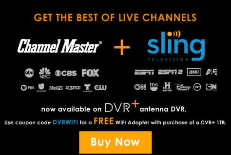 Channel Master and Sling TV