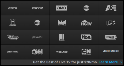 Whats new with Sling TV