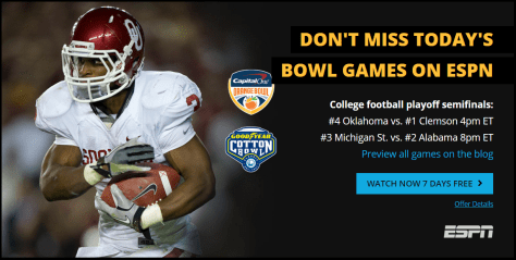 How to watch College Football Online