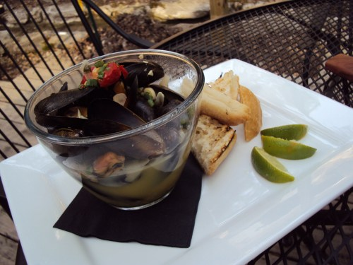 Mussels Basquaise