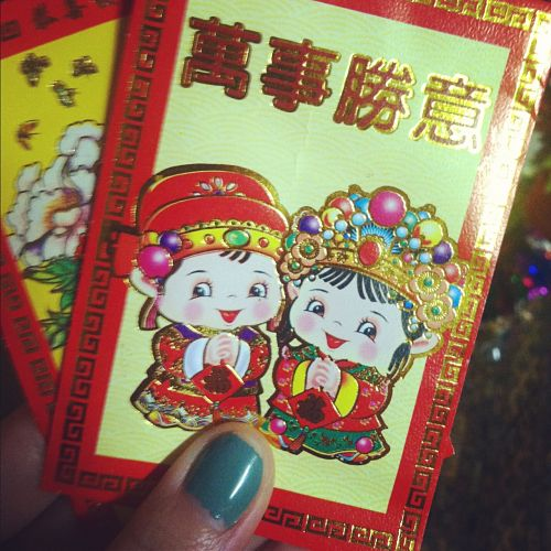 red envelopes li xi lucky money