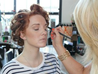 makeup application by reveau salon and spa