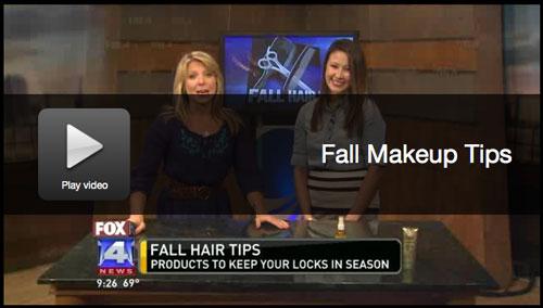 kim wallace kimberlyloc fox 4 kc fall beauty tips