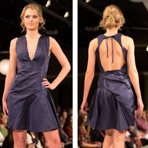 {WM Couture might have to be my pick for second-favorite from Saturday night's show. Designer Wendy McMillian's collection of gorgeous gowns had me ready to find my next Kansas City social event.}