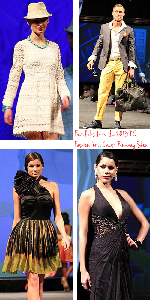 favorite styles from fashion for a cause 2013 kansas city