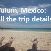 tulum, mexico: the details