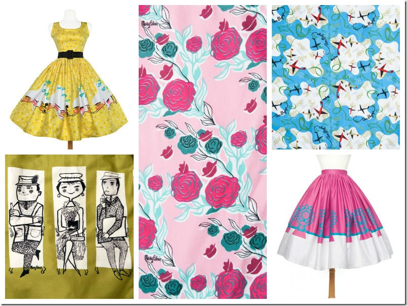 whimsy of disney: mary blair clothes