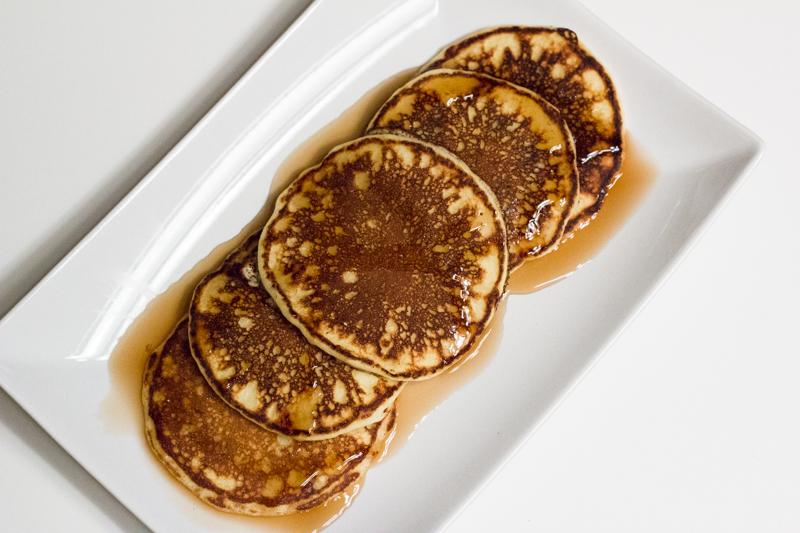 tried & true: Chocolate and Bacon Soufflé Pancakes