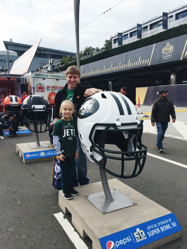 Our Super Bowl 50 NFL Experience