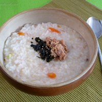 Tuna porridge recipe - 참치야채죽
