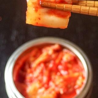 Let's  make kimchi!